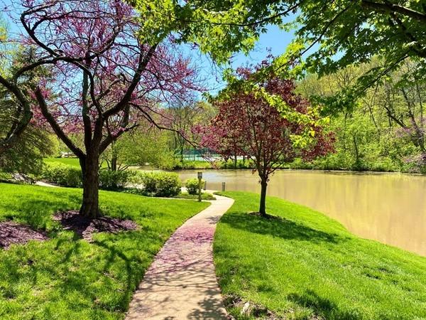 Spring is in full bloom at the Cedar Creek Community
