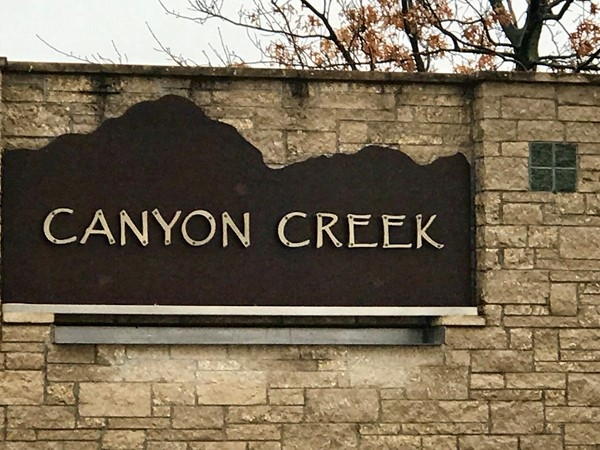 Entrance to Canyon Creek