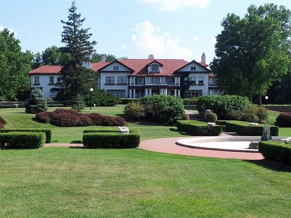 Longview Farm was built by Robert A. Long in 1914.
