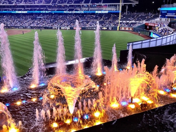 Kauffman Stadium is one of the prettiest venues in the country for watching major league baseball