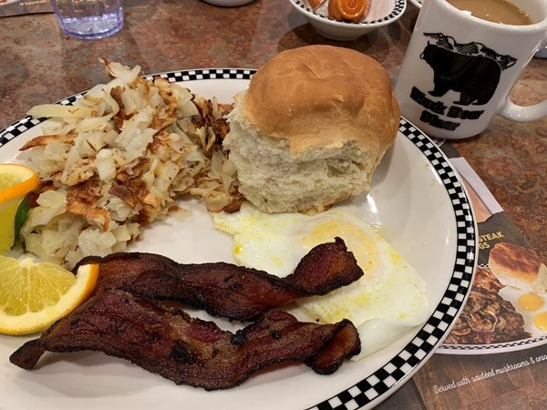 Enjoyed a delicious breakfast at Black Bear Diner