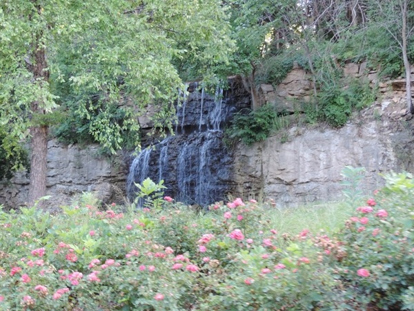 Waterfall at Cedar Creek