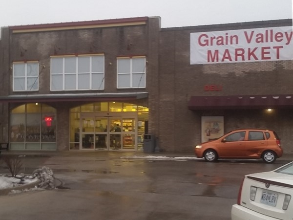 Grain Valley Market, it's so nice to have a fully stocked store with great prices
