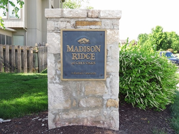The monument sign on Clear Creek Parkway