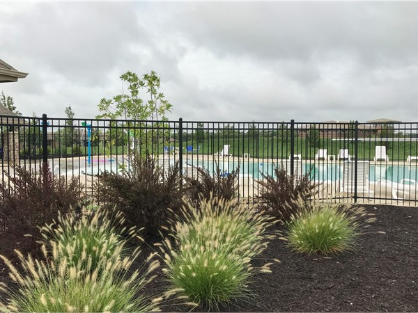 Community pool at Parkway Estates