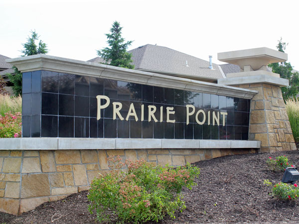 Prairie Point. Homes from $300K - $450K.