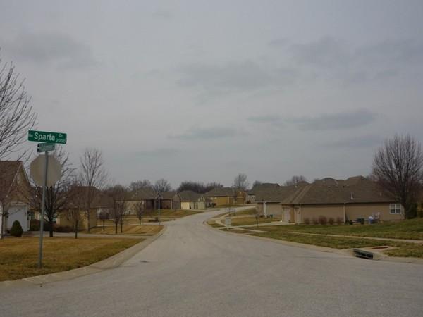 NE Colonnade Avenue from Northeast Sparta Drive