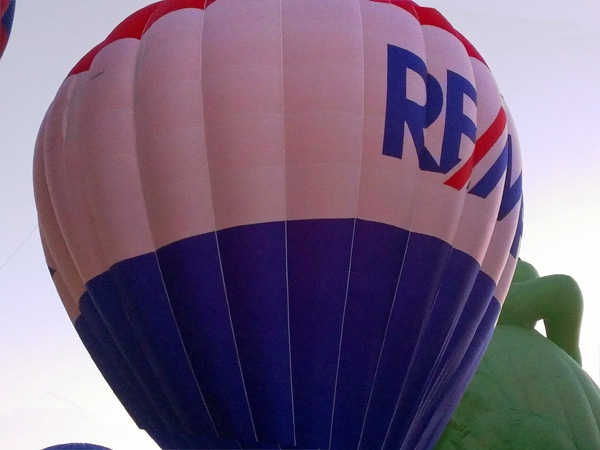RE/MAX balloon at Midwest Balloon Fest 2012