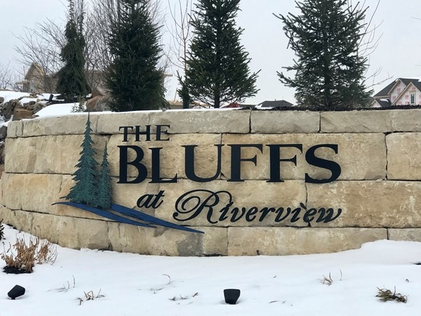 The Bluffs at Riverview is a new subdivision