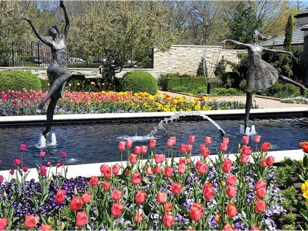 Ewing and Muriel Kauffman Memorial Garden