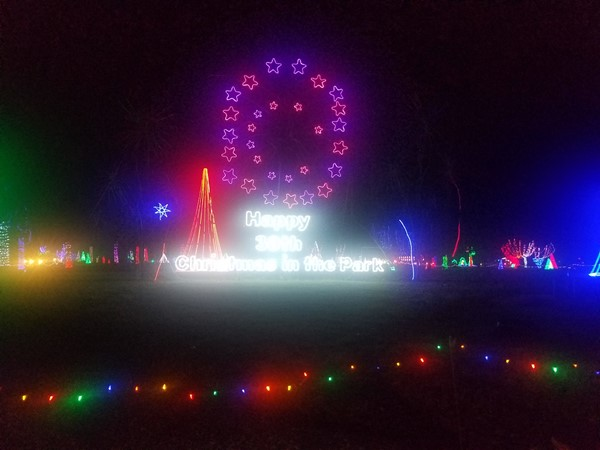 Christmas in the Park for the 30th year