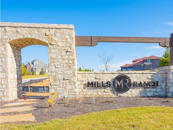 Mills Ranch in South Overland Park.  A Matt Adam community