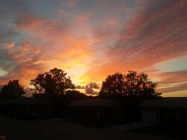 Late summer sunsets in Kansas City