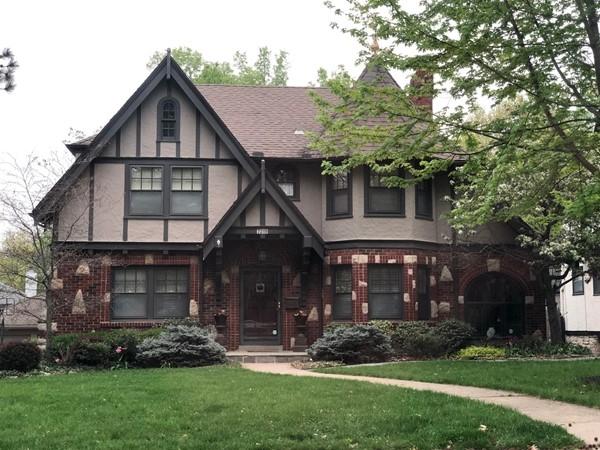 Charming Tudor style homes in Ward Park Subdivision