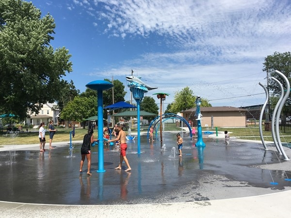 With five acres and an ocean theme water spray park, Dagg Park is the place for kids to cool off