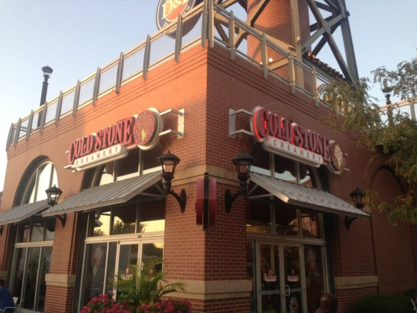 Cold Stone Creamery:  A great place to spend summer nights at KC Legends