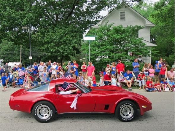 Lots of cool cars in the Lenexa Community Days Parade