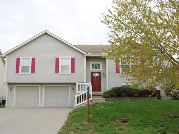 A 4 bedroom, 3 bath split level home in the neighborhood