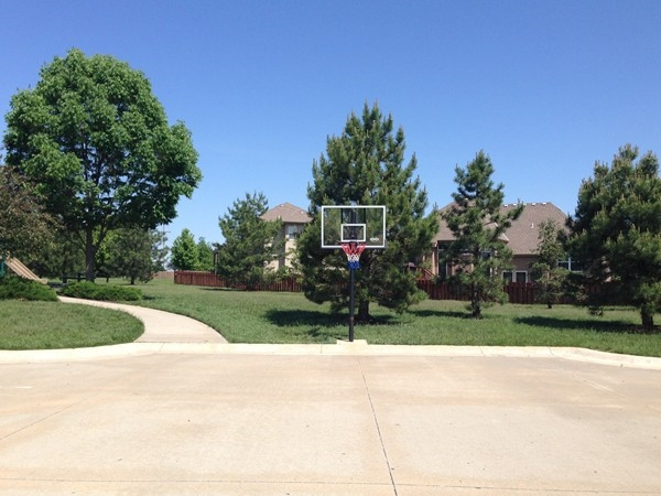 Basketball court in Northview Place