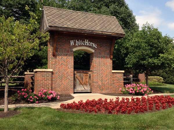 WhiteHorse Subdivision Entrance