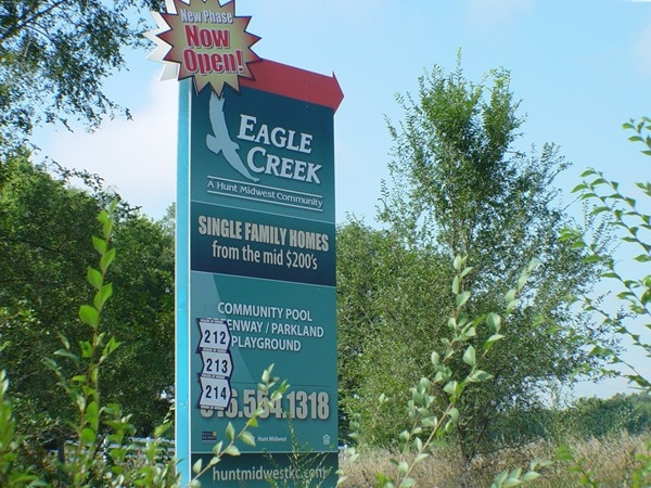 Still room to build at Eagle Creek!