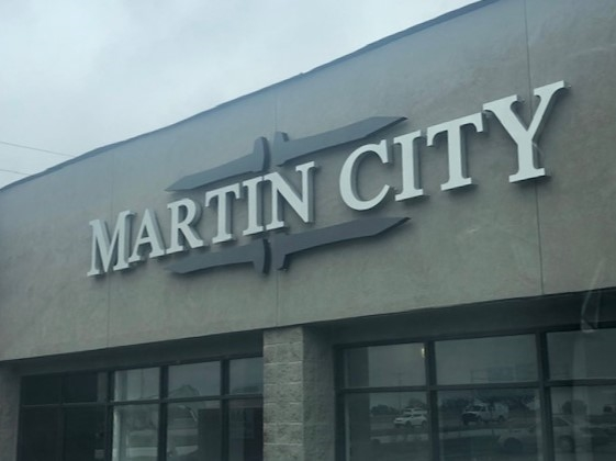 Martin City Brewery!  New taproom and pizza parlor is now officially open