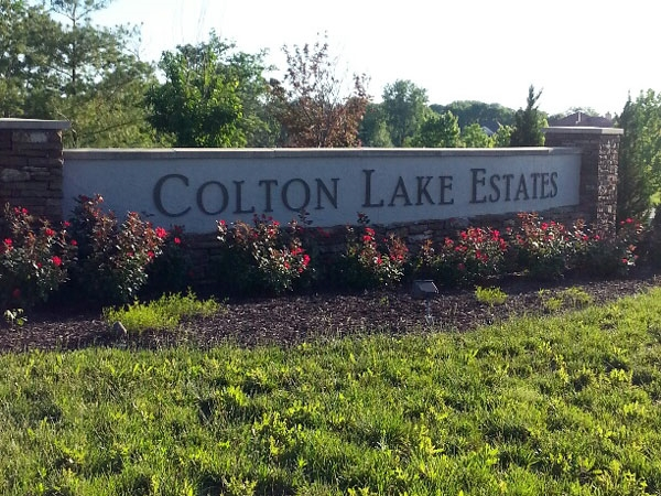 Colton Lakes Estates boasts many large, treed lots with beautiful open spaces.