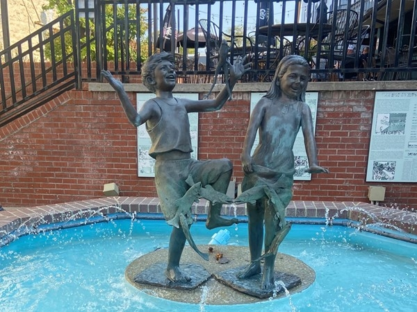 Kids at Heart fountain in Downtown Lee's Summit
