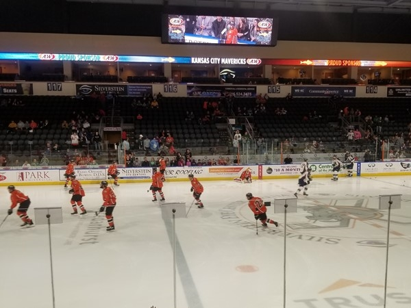 A great night for Mavericks Hockey in East Independence