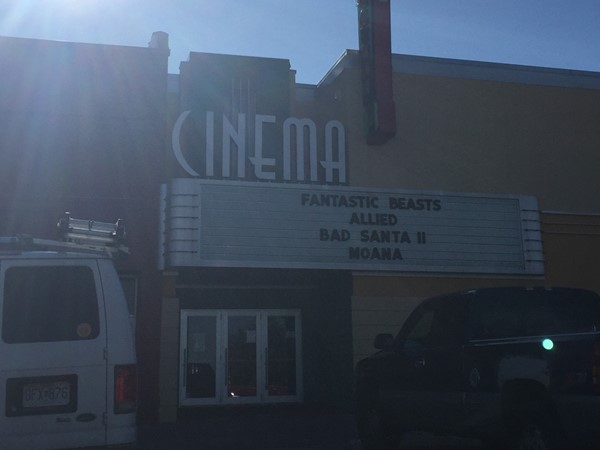 Pharaoh Cinema 4 located on the square in Independence