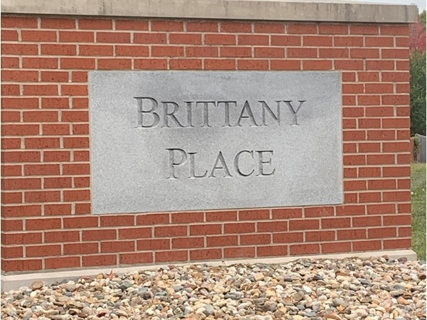 Front entrance to Brittany Place