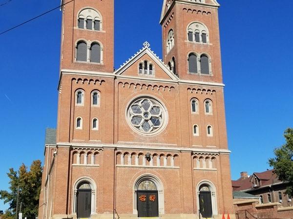 Beautiful church in Atchison