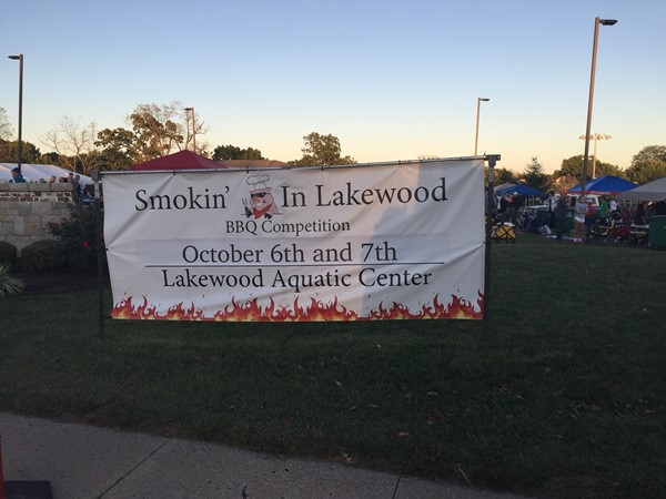 Lakewood Second Annual BBQ Contest! Fantastic neighbors and great turn out