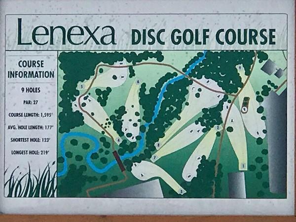 Sar-Ko-Par-Trails Park, Disc Golf Course