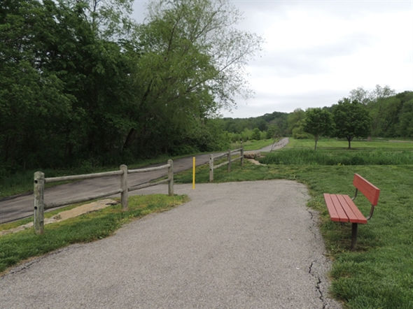 Walking and biking trails in Johnson County.