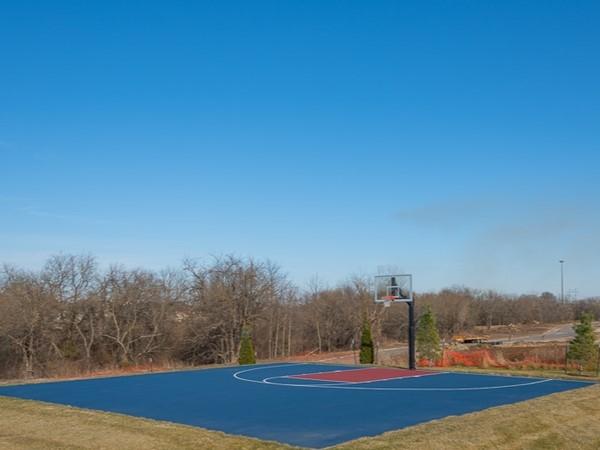 Basketball court at Dayton Creek