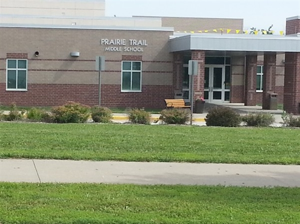 Praire Trail Middle School in Northwest Olathe
