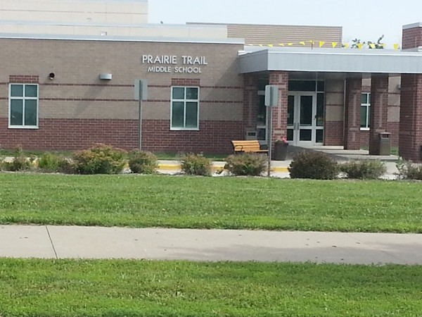 Praire Trail Middle School in Northwest Olathe