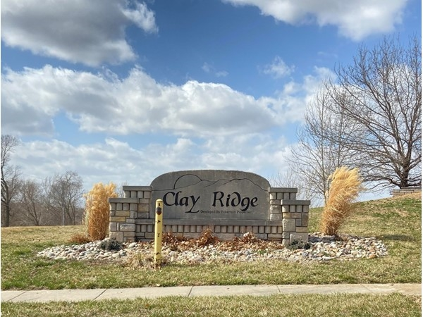 Clay Ridge is a great subdivision in Liberty
