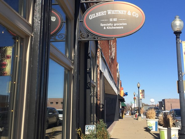 Gilbert Whitney & Co offers gourmet groceries and kitchenware