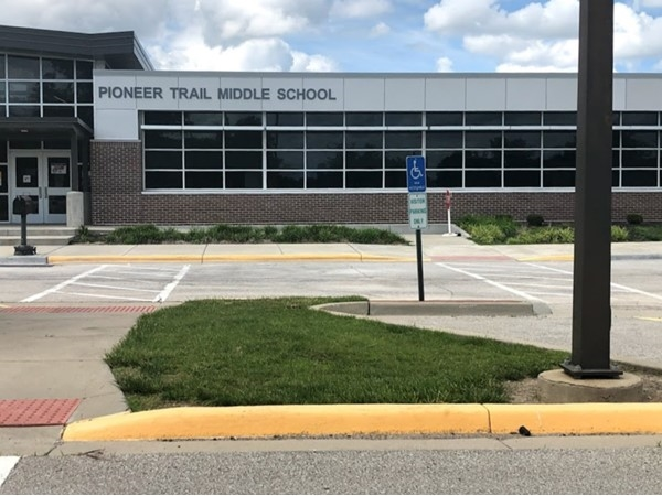 Pioneer Trail Middle School is just a few minutes away