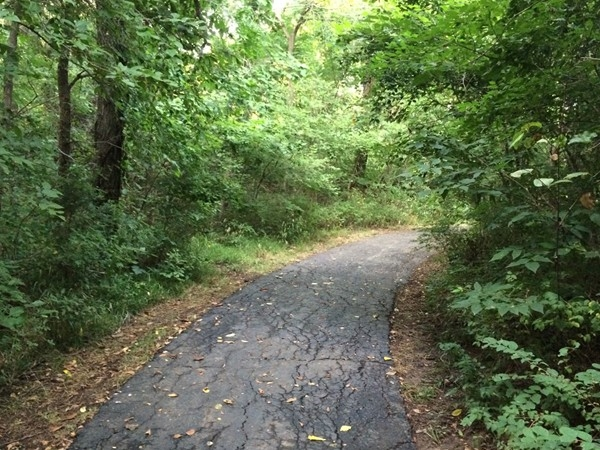 Jogging, walking, golf cart ride - You can do it all on this trail