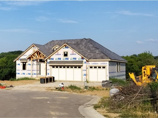 New homes being constructed in The Preserves with gorgeous treed, walkout, and cul de sac lots