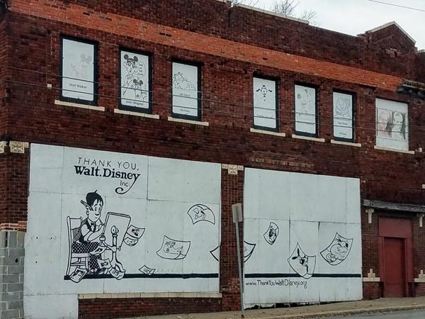 Walt Disney's studio on 31st Street in Kansas City MO