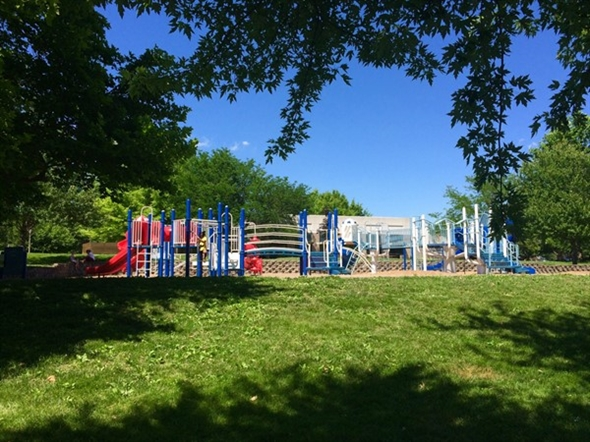 Rotary Park has tennis, horseshoes, sand volleyball, basketball, walking trail, lake and play area