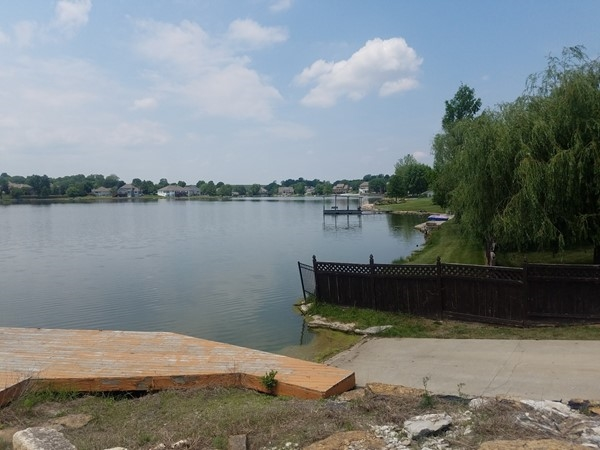 While some folks build their own private docks, a Cedar Lake boat ramp is easily accessible, too