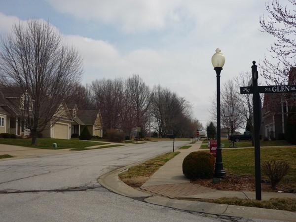 Northeast Tara Circle from Northeast Glen Drive