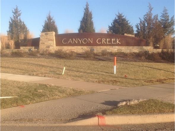 Canyon Creek - neighborhood entry monument...very impressive