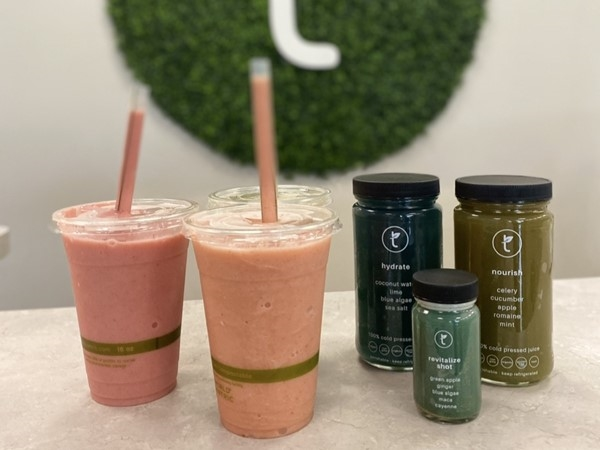 Terra Health and Wellness is a great spot for a smoothie juice, or yummy all organic snack