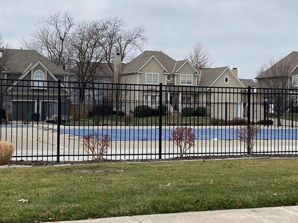 One of three neighborhood pools for Stoney Creek
